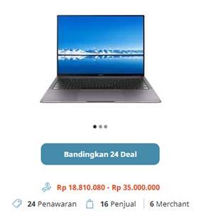 Harga Laptop Huawei MateBook X Pro