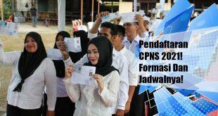 Jadwal Dan Link Pendaftaran Online CPNS 2021 sscasn.bkn.go.id Berikut Formasi CPNS 2021
