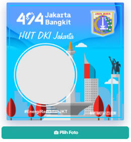 Twibbonize Ulang Tahun Jakarta 2021
